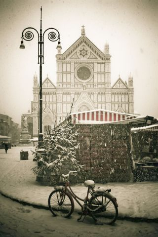 Snow in Florence!