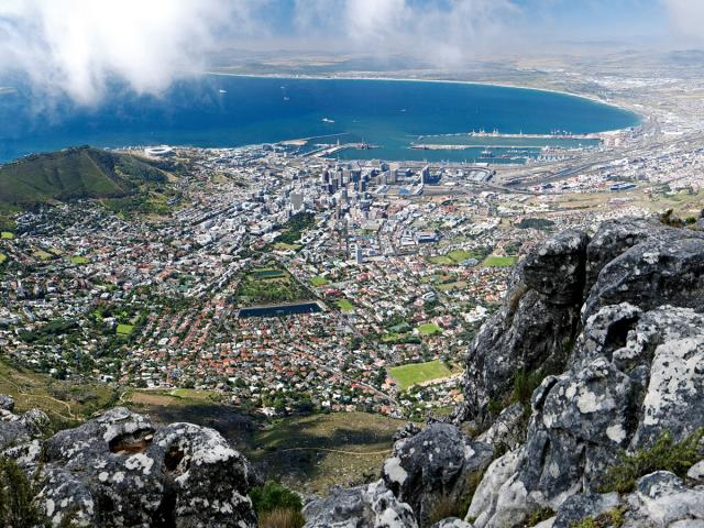 A Panoramic View of Cape Town